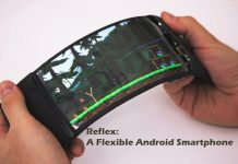 Flexible Android Smartphone