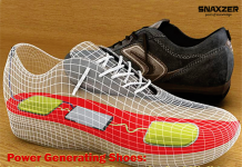 Power Generating Shoes