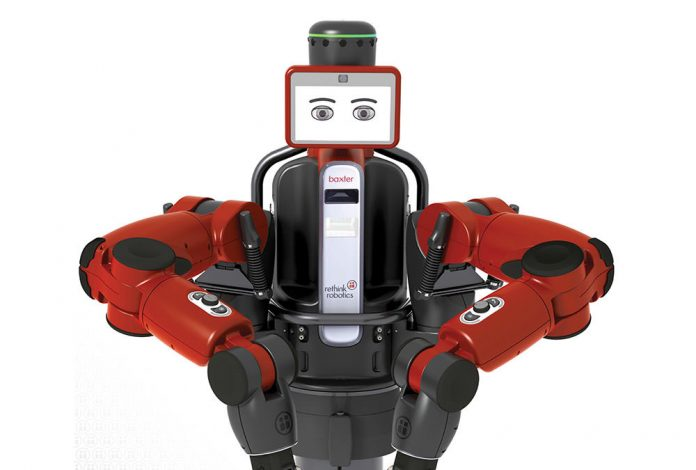 Baxter Robot : The blue collar robot