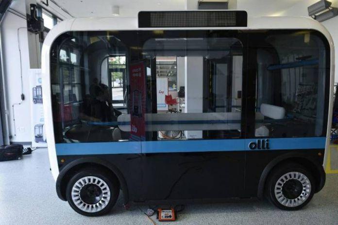 Self-driving Minibus