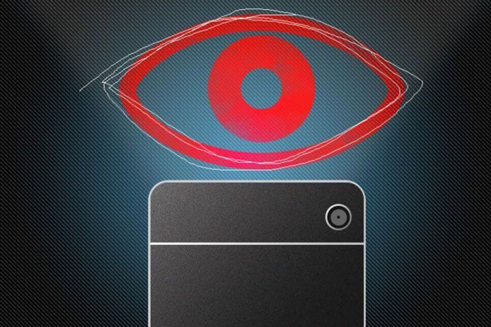 Eye-tracking system uses ordinary cell phone camera