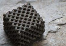 Hierarchical metallic metamaterial