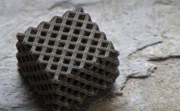 Hierarchical metallic metamaterial