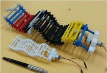 Single Actuator Wave-Like Robot