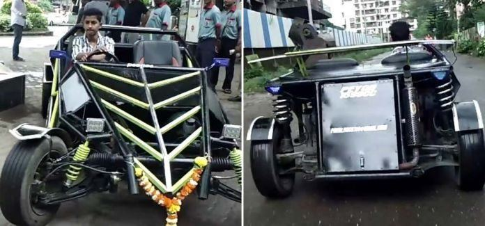 19 Year Old Built His Buggy Car By Watching YouTube Videos