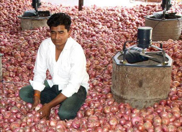 Indian Teen Finds Low Cost Onion Storage Facility