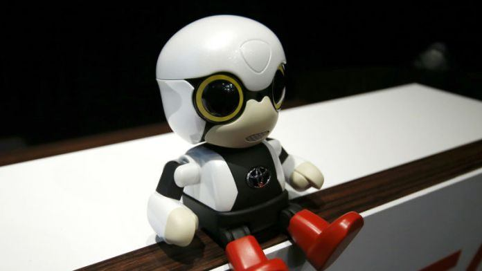 Toyota Launches Baby Robot For Companionship
