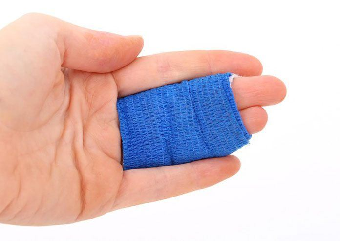 New electric bandage rapidly heals wound