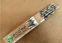 Eco-Friendly Pencils Help Recycle Old Newspapers and Save Trees