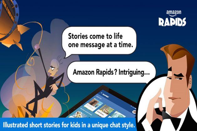 Amazon launches Rapids exiciting new rapid app for kids
