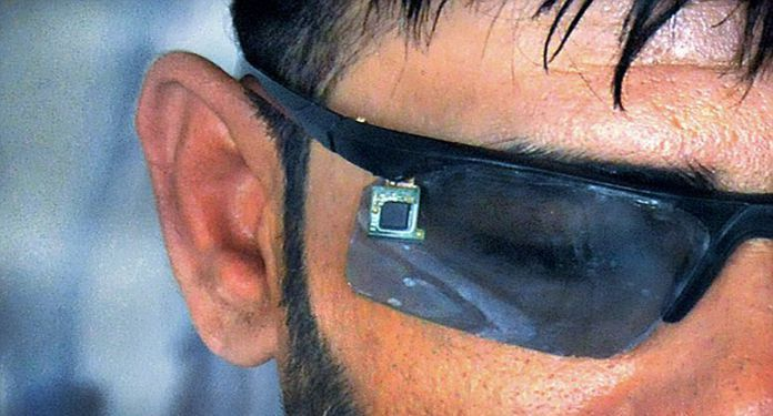 Inventor creates a ghost phone for your eyes only
