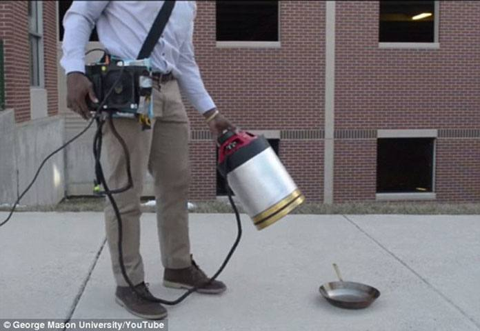 A Sonic Fire Extinguisher Extinguish Fire by Sound Waves