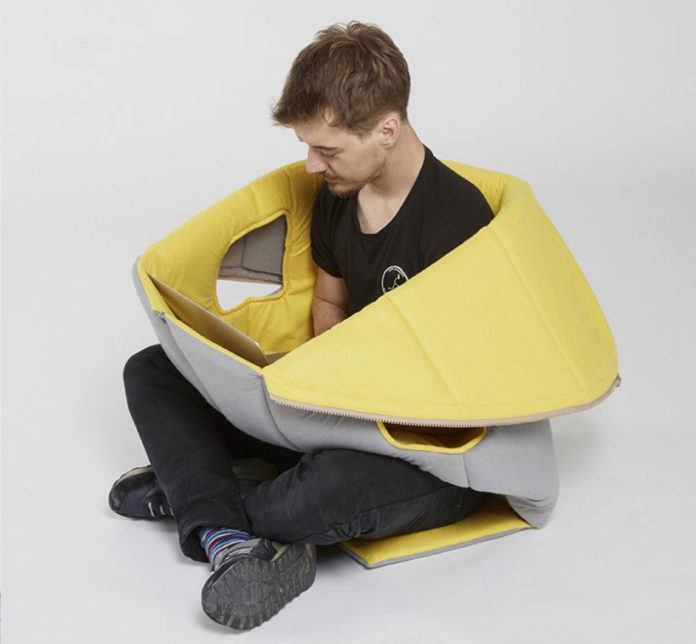Sharkman A Soft Wearable Furniture You Can Work And Sleep In