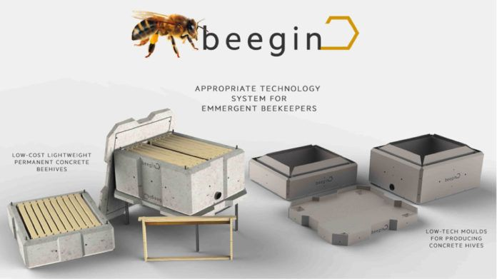 Student Designs Sustainable Beekeeping System