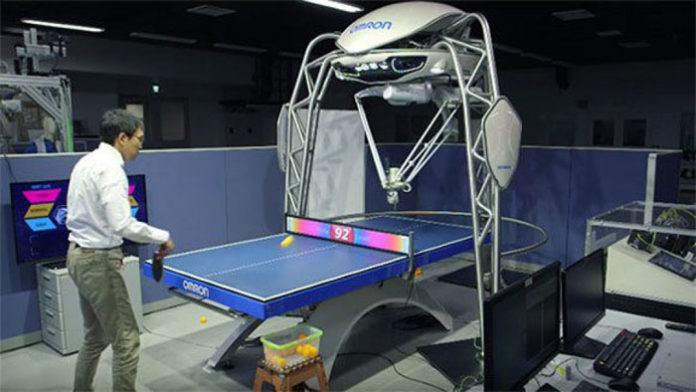 FORPHEUS: Table Tennis Robot from Omron is a New Coach