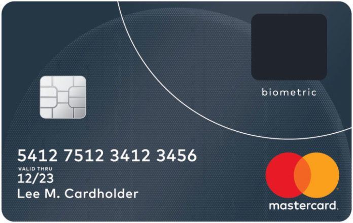 MasterCard Reveals Next-Generation Biometric Card