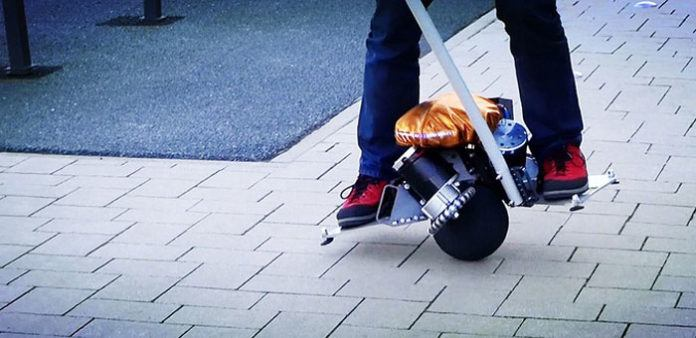 Having a Ball On a Ball: Meet The Self-Balancing Scooter