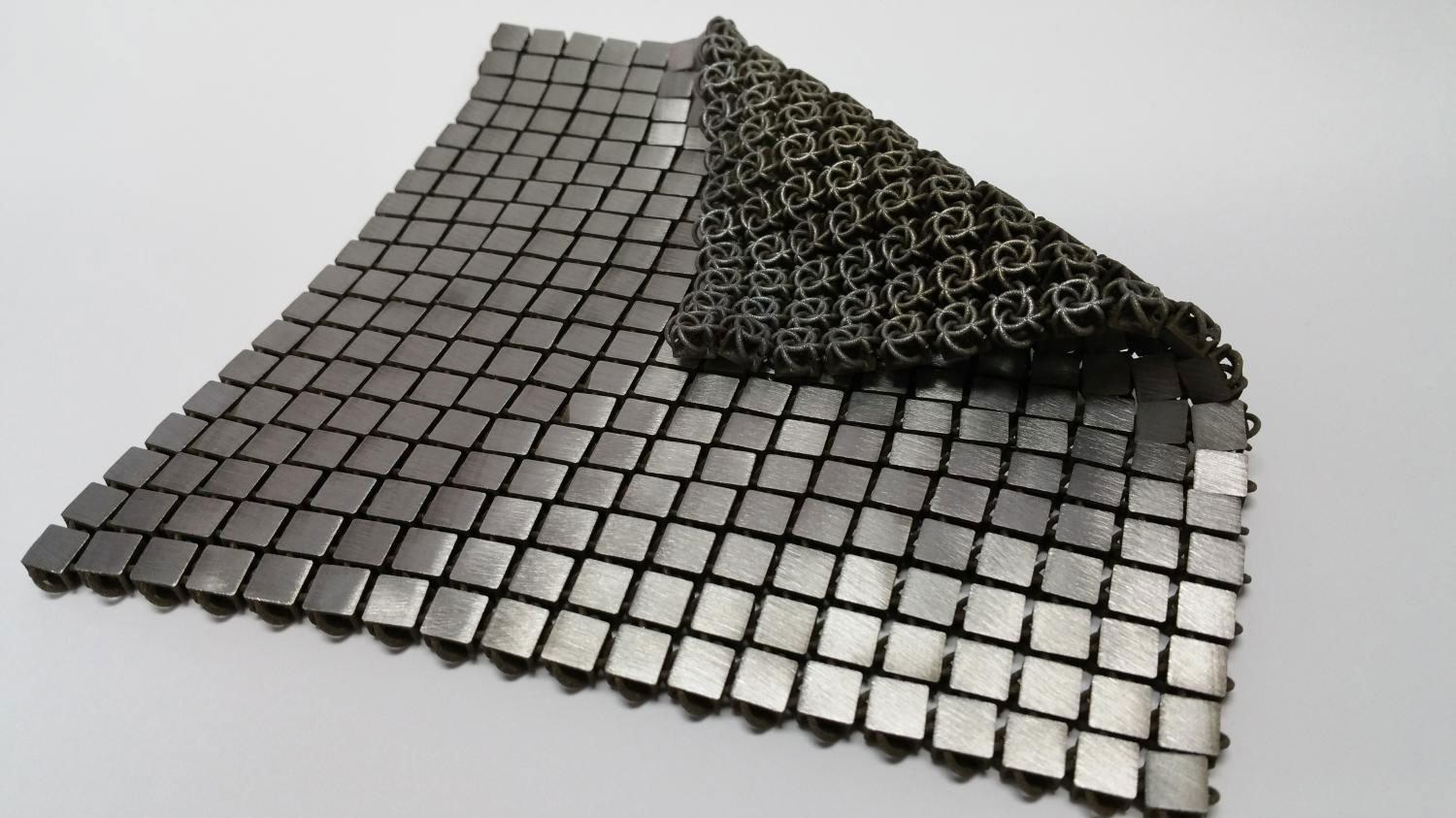 Space Fabric Links Fashion and Engineering