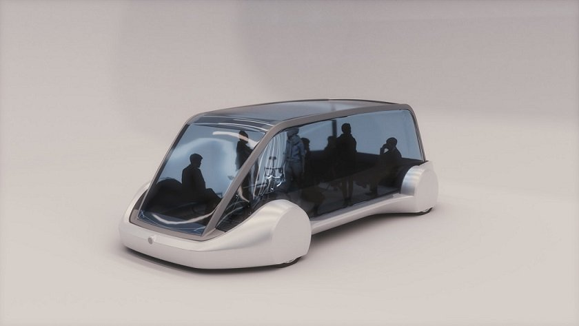 Elon Musk Reveals Photos of His New Futuristic Vehicle Concept