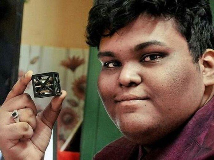Indian Teen Builds World's Lightest Satellite
