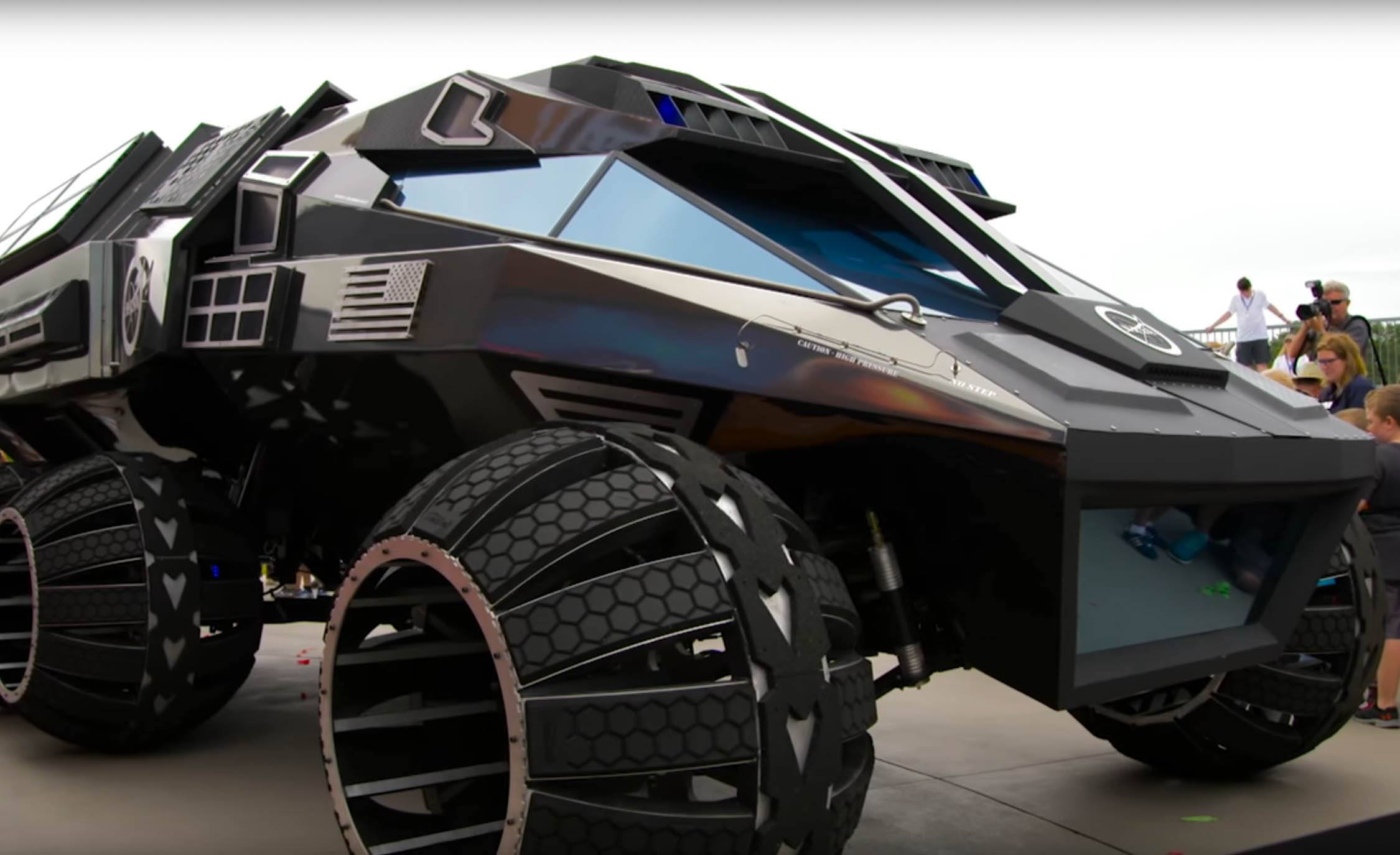 NASA Unveils Visionary Mars Rover Which Could Be Future Of Transport on Red Planet