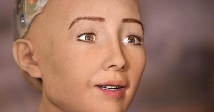 Sophia the robot says artificial intelligence is good for us