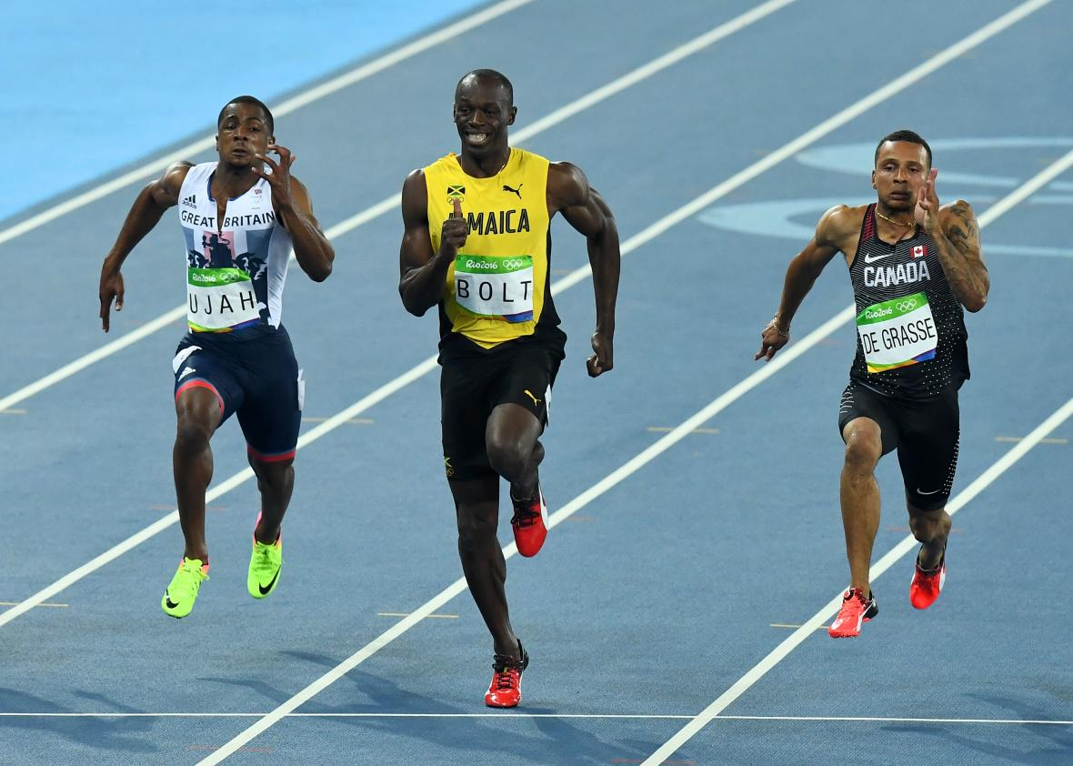 849f41f2623cf7 Study finds Usain Bolt May Have Asymmetrical Running Gait - Tech ...