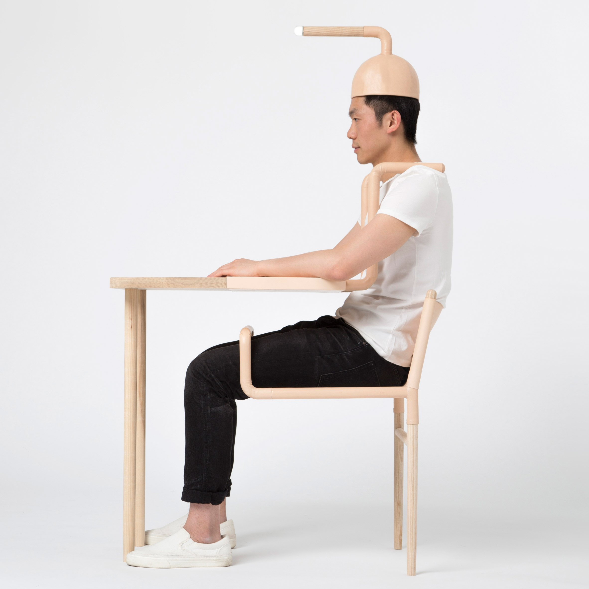 Graduate Xiang Guan Designs Furniture That Only Works When A Human Is Present