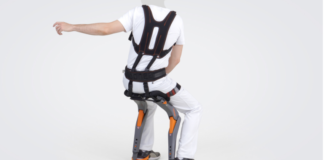The Chairless Chair Allows You to Sit Anywhere