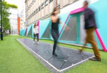 Electric Avenue: Energy-Harvesting Tiles Line London 'Smart Streets'