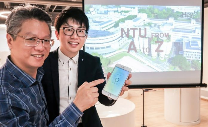 NTU Start-up Launches New App : HEY! Shake for Conventional Video Viewing