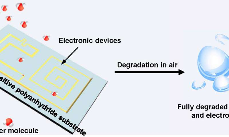 These Transient Electronic Devices can Degrade and Disappear Themselves