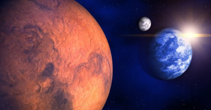 Research sheds new light on how Earth and Mars were created