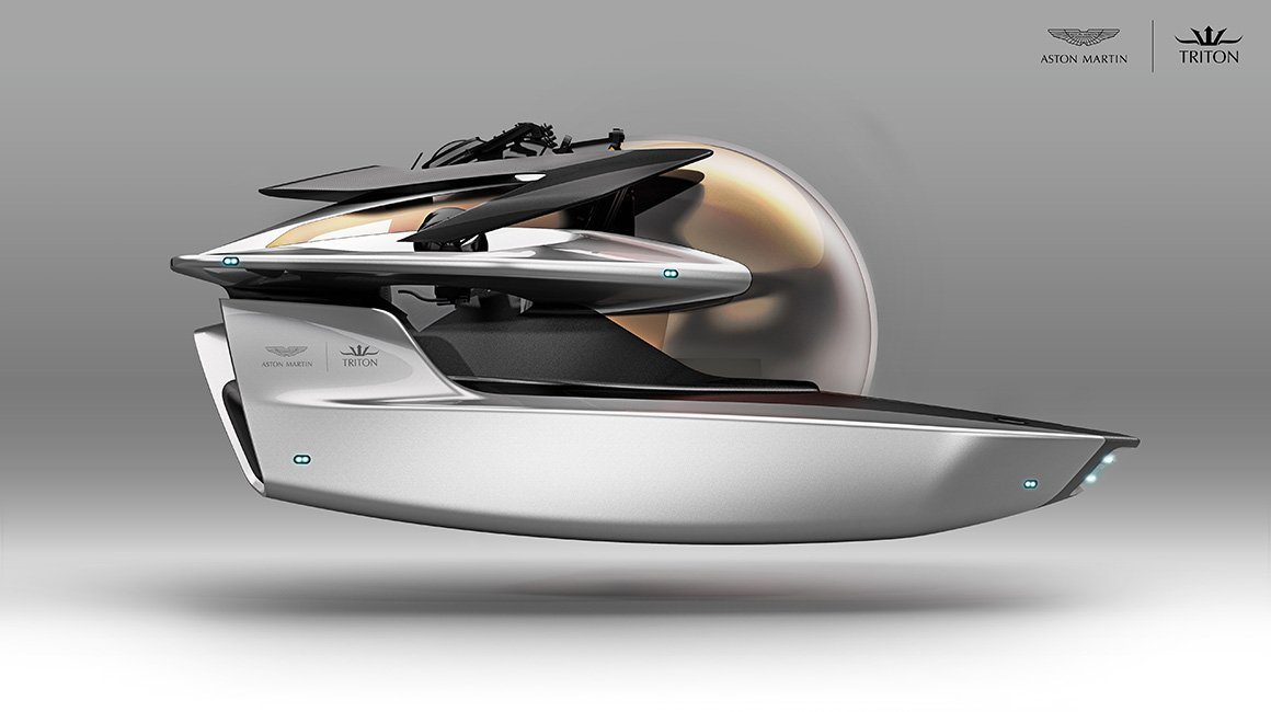 Aston Martin is Designing an Exclusive Luxury Submarine