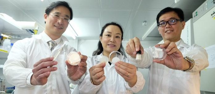A Gel Patch which could Improve Healing and Reduce Scarring