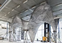 ETH Zurich Team Builds Ultra-Thin Curved Concrete Roof