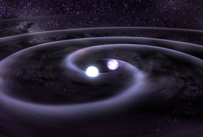 International Team Observes First Radio Counterpart to Gravitational Waves