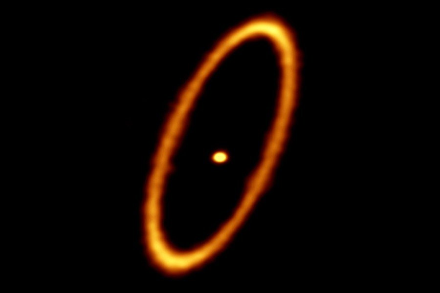 Scientist Sees Evidence of Planetary Formation in Narrow ...