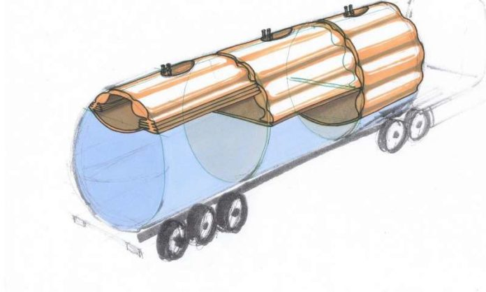 A System to Prevent Tanker Trucks from Tipping over