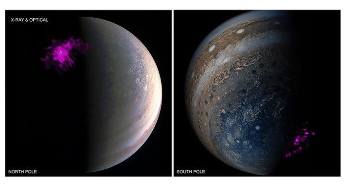 Jupiter's Surprising Southern Aurorae