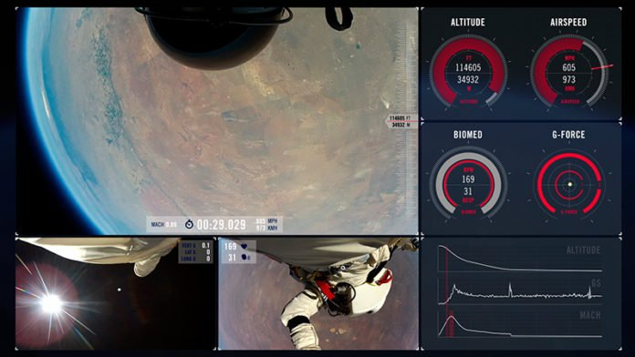 Falling faster: The surprising leap of Felix Baumgartner