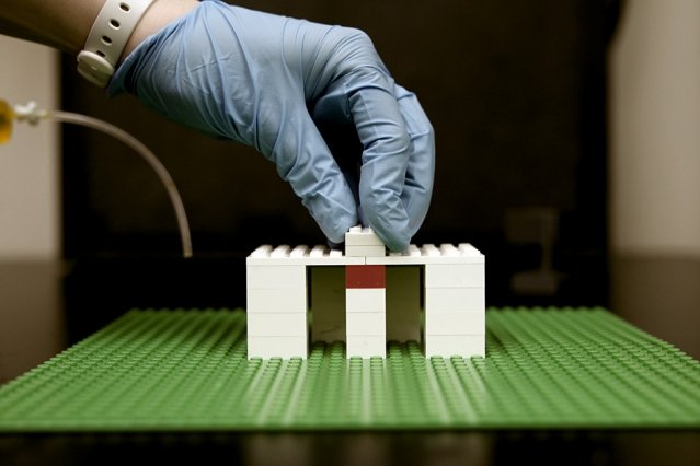 A new platform for microfluidics from LEGO bricks