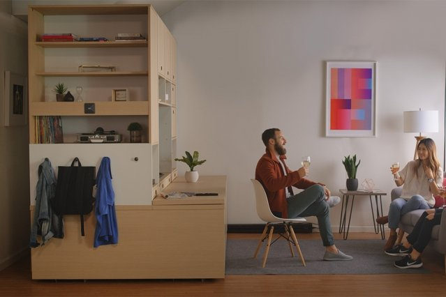 Robotic interiors: Making the type of robotic living a reality