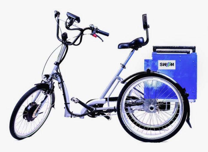 TUM develops a tricycle for Munich's bike rental system MVG Rad