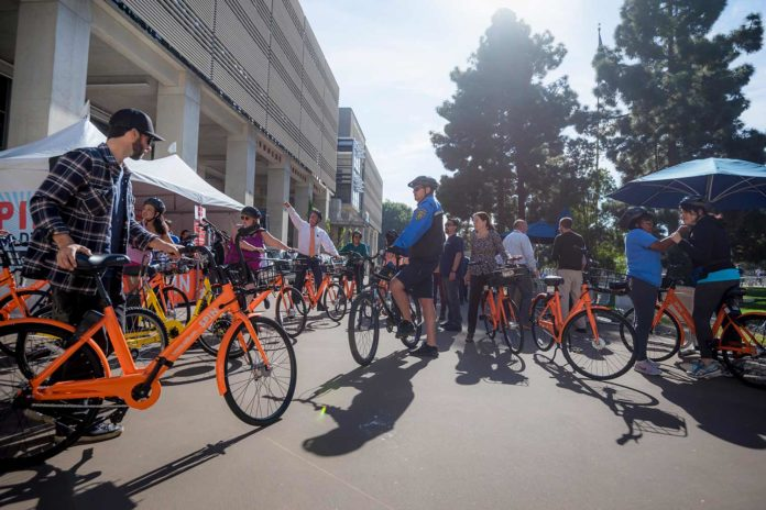 New bike-share program: bicycle to step in brighter future