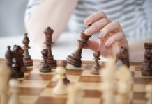 Female chess players beat expectations when playing chess against men, study