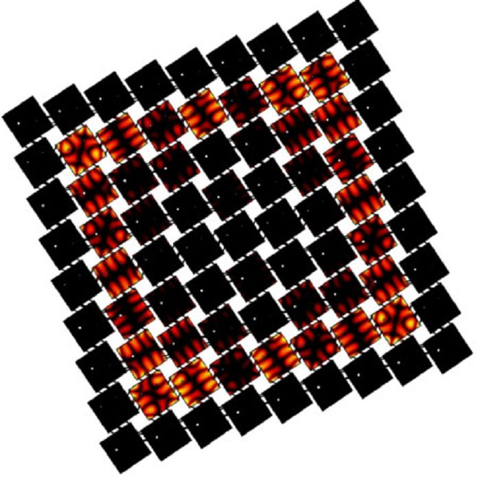 Building blocks to develop metamaterials