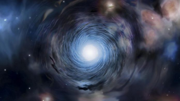 Scientists observed whirlpool movement in earliest galaxies
