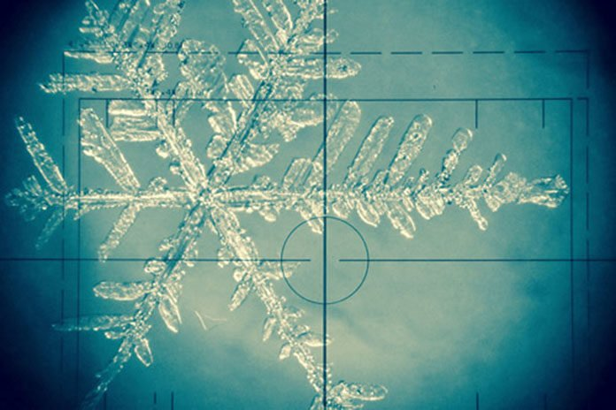The chemical composition of snowflakes, such as this, can act as recorders of the climate. After they have become frozen into the ice sheets, that information can be unlocked may years later and used to tell us how the climate was different in the past.