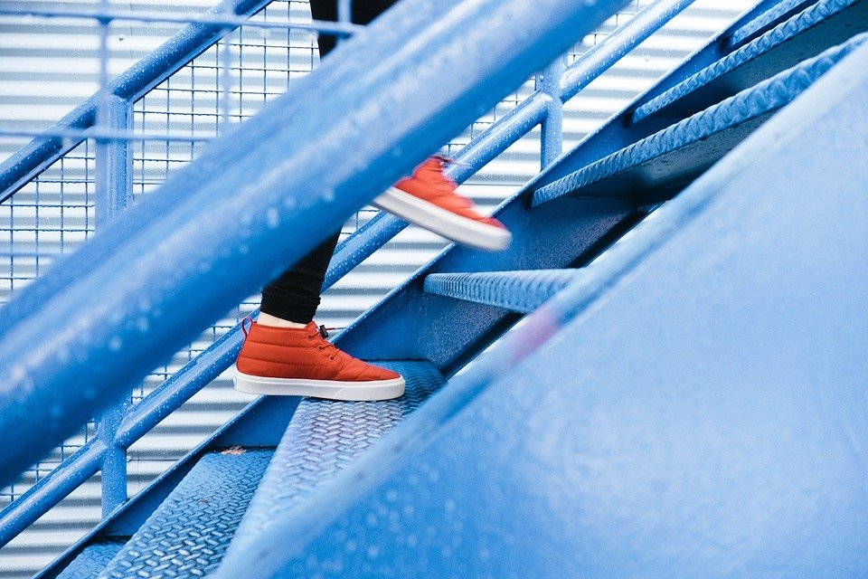 climbing stairs can lower blood pressure and strengthening leg